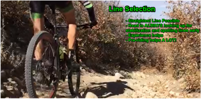 Downhill mtb training skills berms line selection